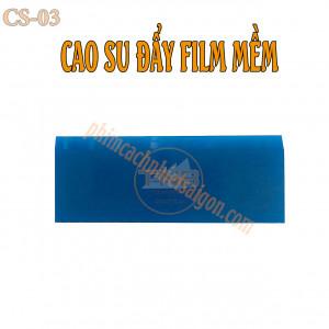 Cao su đẩy phim mềm sử dụng cho dán phim cách nhiệt. Chất liệu cao su mềm, dễ sử dụng