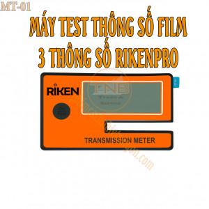 Máy dùng để đo ba thông số cơ bản của tất cả các loại dòng phim cách nhiệt trên thị trường hiện nay. Ba thông số đó là VLT (Độ truyền sáng); IRR (Cản tia hồng ngoại); UVR (Chống tia cựa tím)